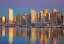 Picture showing view of Vancouver