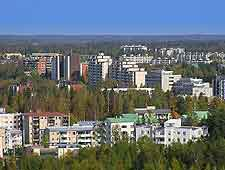 View of the city of Vantaa