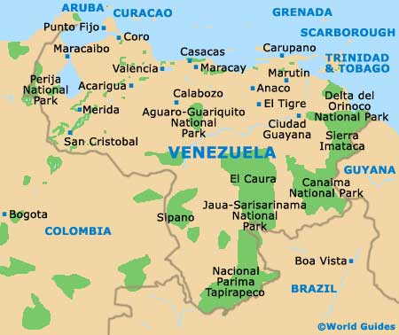 Merida Maps and Orientation Merida The Andes Venezuela