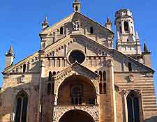Picture of the historical Cathedral of Verona