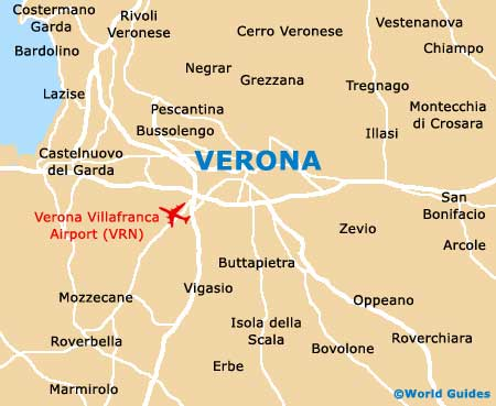 Verona Maps and Orientation Verona Veneto Italy