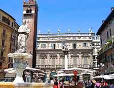 Picture of the Historic district's Piazza delle Erbe