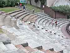 Photo of the Teatro Romano in the Left Bank