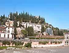 Photo of the riverfront Teatro Romano