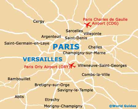 Small Versailles Map