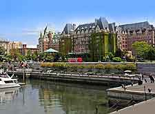 Further harbourfront photo, showing the Fairmont Hotel