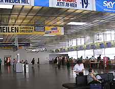 Vienna Airport (VIE) Travel and Transport: Interior photo of the terminal