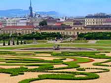 Vienna Information and Tourism: Skyline photo taken from the Belvedere Palace