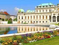 Photo showing the Schloss Belvedere