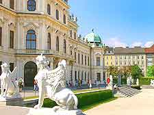 Further picture of the Schloss Belvedere (Belvedere Palace)