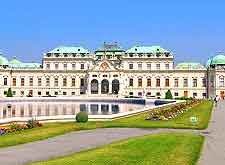 Image of the city's Belvedere Palace