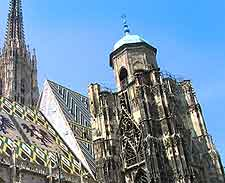 View of St. Stephansdom (St. Stephen's Cathedral)