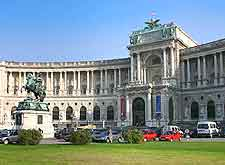 Image of the city's Hofburg (Imperial Palace)