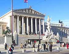 Picture of the Austrian Parliament Building