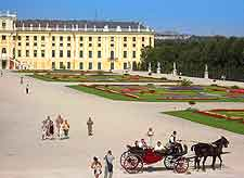 Photo of the magnificent Schonbrunn Palace