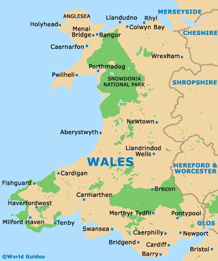 Swansea Maps and Orientation: Swansea, West Glamorgan, Wales