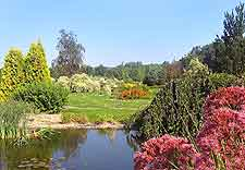 Picture of the Botanical Gardens during the summer