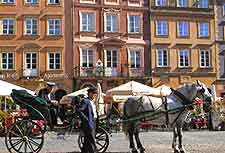 Warsaw Photo of horse and carriage ride around the Old Town