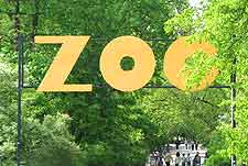 Photo of the Zoological Gardens signpost
