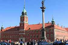 Photo of the Royal Castle in the Stare Miasto district
