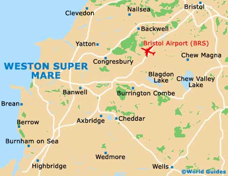 Weston Super Mare Maps and Orientation Weston Super Mare North
