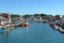 Picture of the Harbour at Weymouth