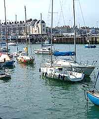 Photo of boats in the Old Harbour