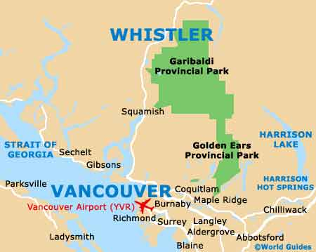 Whistler Maps And Orientation Whistler British Columbia