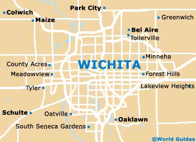 Small Wichita Map