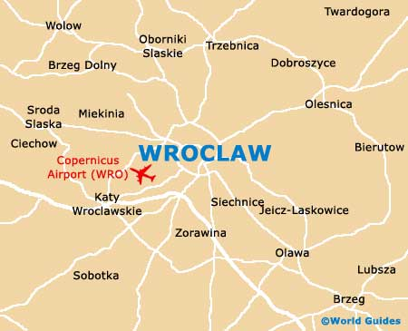 Small Wroclaw Map