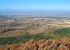 Aerial photo of Mount Sleza