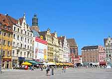 Picture of Wroclaw's Old Market Square's colourful architecture