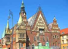 Photo of the Town Hall on the Rynek