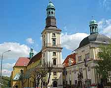 Picture of central Trzebnica