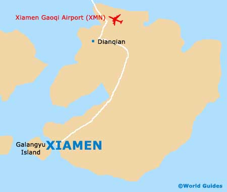 Small Xiamen Map