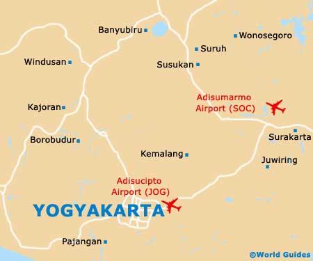 Small Yogyakarta Map