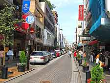 View of central Motomachi