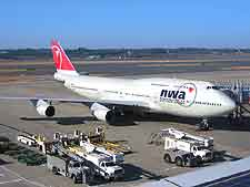 Photo of plane at Narita International Airport (NRT)