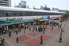 Image taken outside of the Sakuragi-cho Station