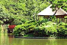 Photo of the tranquil Sankei-en Garden