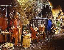 Image of a dispaly at the Jorvik Viking Centre