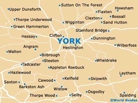 Small York Map