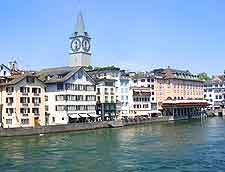Image of the Limmat River in Zurich