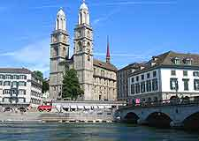 Picture of Zurich's Gross Munster cathedral