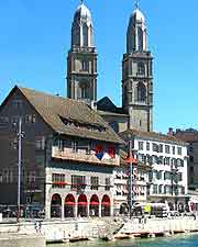 Picture showing the Grossmünster