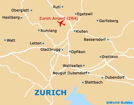 Small Zurich Map