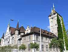 Picture of the Swiss National Museum (Schweizerisches)