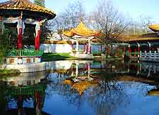 Photo of the Zurichhorn Chinese Gardens